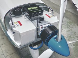 Quiet and reliable: electric motors in small aircraft get their energy from hydrogen fuel cells