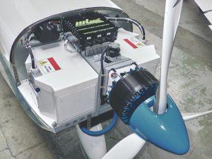 Leise und zuverlässig: Elektromotoren in Kleinflugzeugen beziehen ihre Energie aus Wasserstoff-Brennstoffzellen
