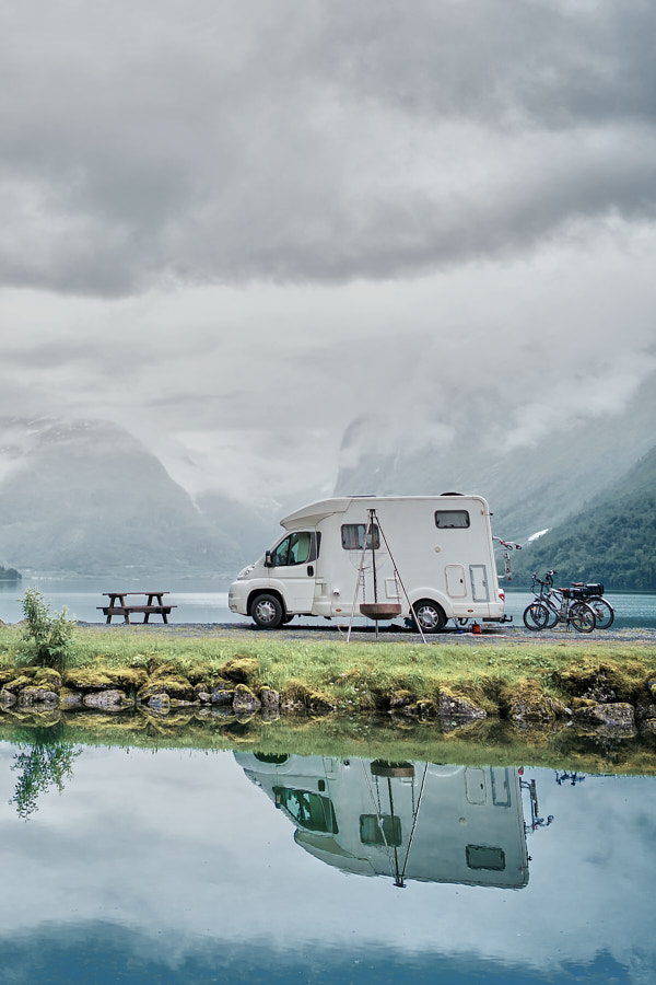 Sustainable and efficient hydrogen drive systems for mobile homes - also for generating electricity
