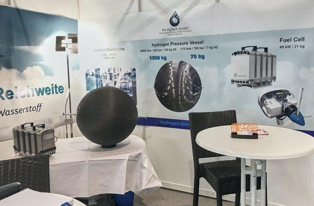 Einzigartige Lösung für Wasserstoff Speicherung: Patentierter Kugeltank