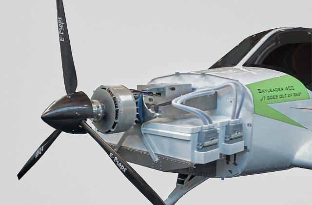 Mit Wasserstoff im Tank fliegen Elektroflugzeuge deutlich weiter